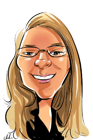 Christina Caricature
